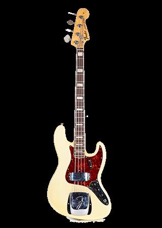 1971 Fender Jazz Bass See Through Blonde