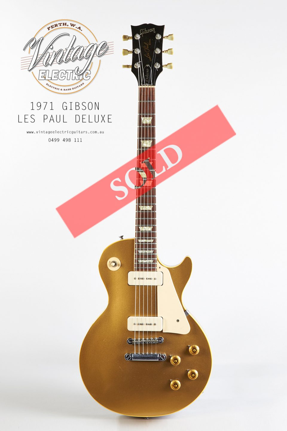 1971 Gibson Les Paul Goldtop Deluxe
