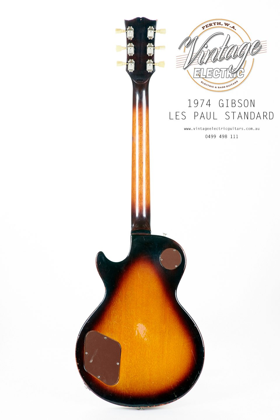 1974 Gibson Les Paul Back of Body