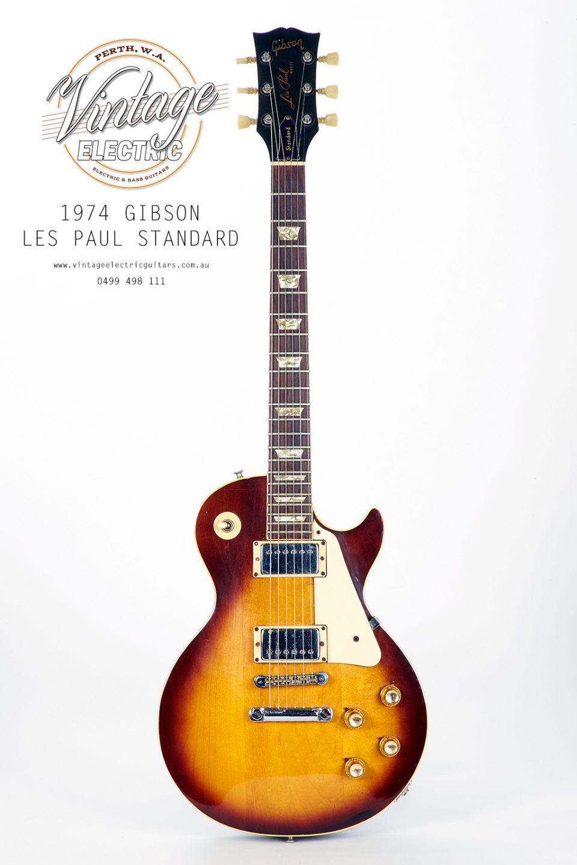 1974 Gibson Les Paul Standard Vintage Guitar USA