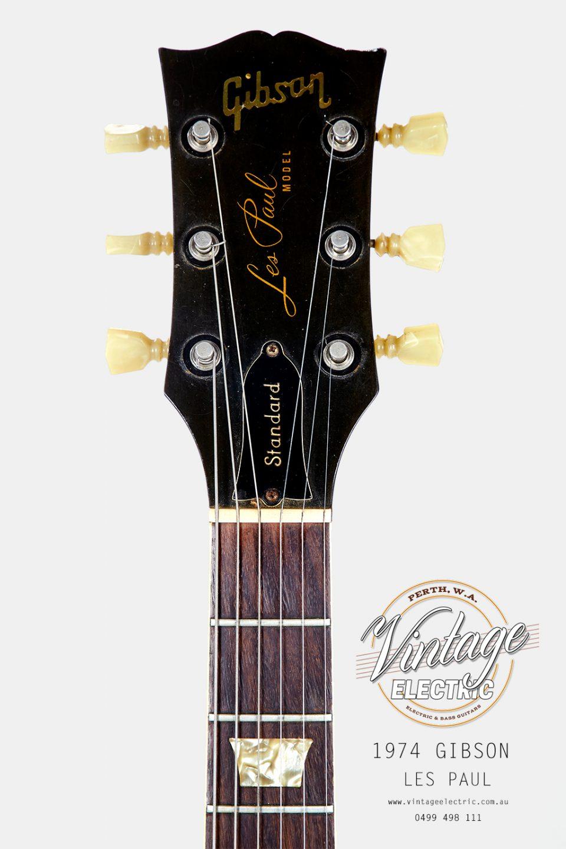 1974 Gibson Les Paul Standard Headstock
