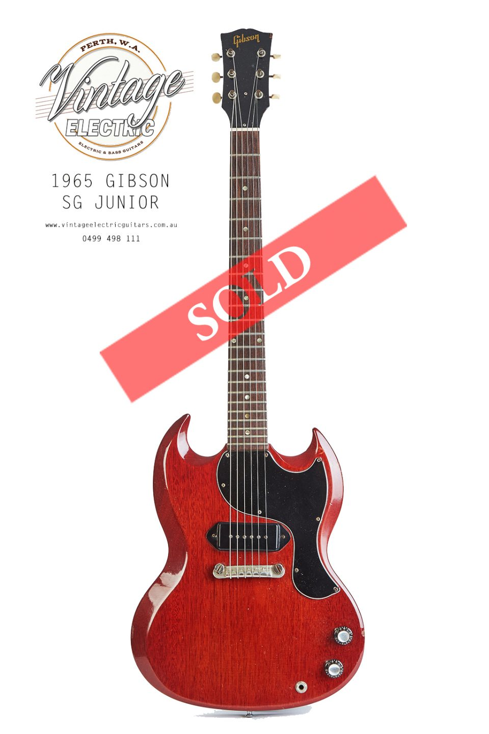 1965 Gibson SG Junior Cherry