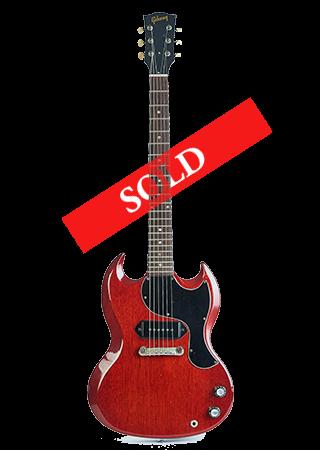 1965 Gibson SG Junior Cherry Red