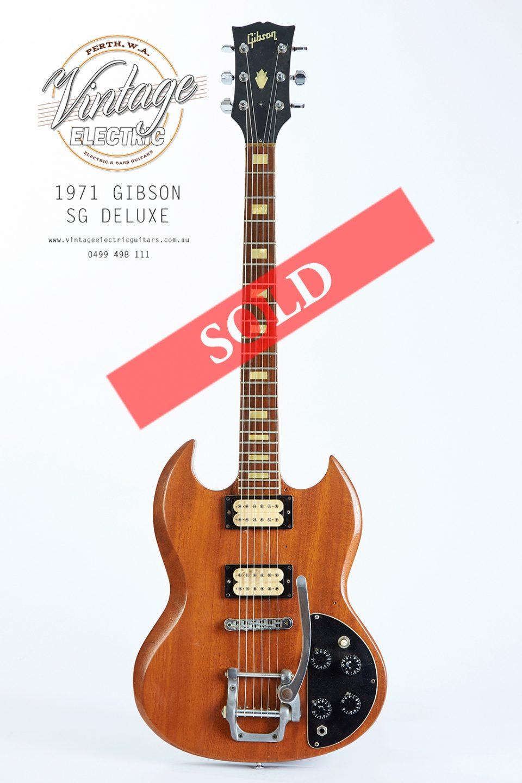 1971 Gibson SG Deluxe