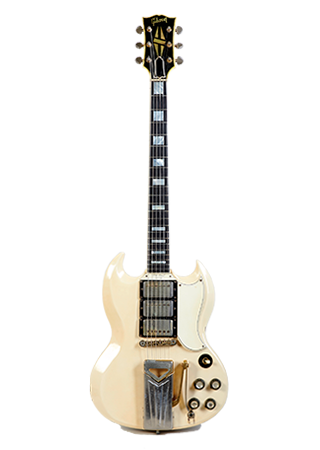 1963 Gibson Les Paul Custom White