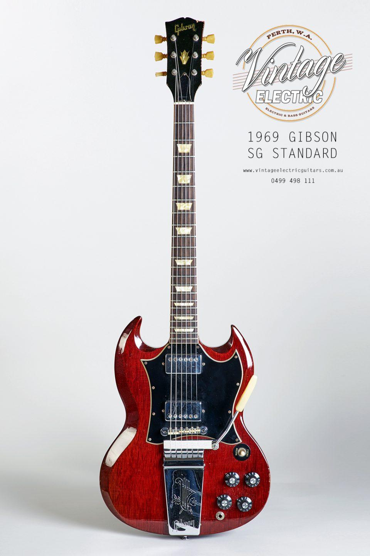 1969 Gibson SG Standard Vintage Guitar USA