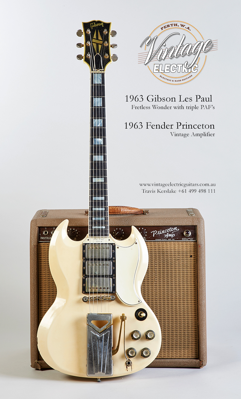 1963 Gibson Les Paul Custom