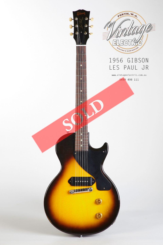 1956 Gibson Les Paul Jr LARGE SOLD