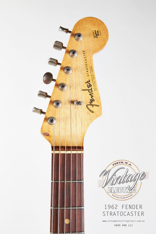 USA 1962 Stratocaster Headstock