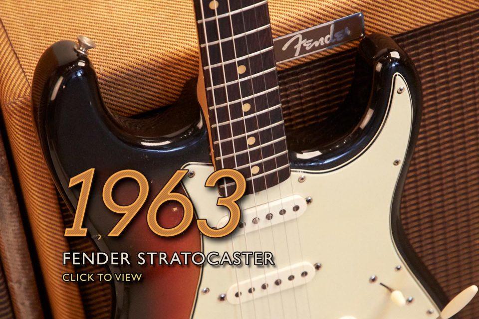 1963 Fender Stratocaster L Series