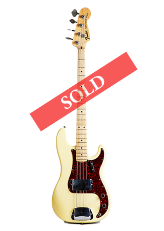 1971 Fender Precision Olympic White