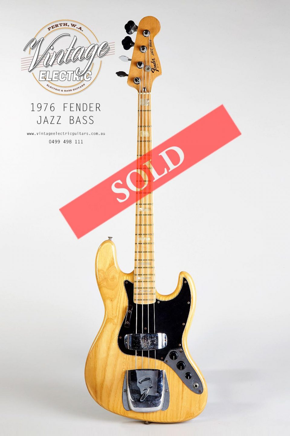 1976 Fender Jazz Natural Marcus Miller