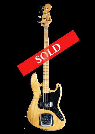 1976 Fender Jazz Natural Marcus Miller