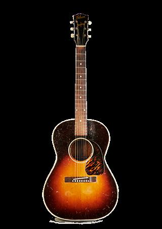 1943 Gibson LG-2 Banner Headstock