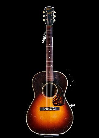 1943 Gibson LG-2 USA Banner Headstock