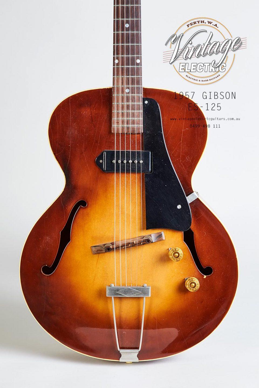 1957 Gibson ES-125 Body