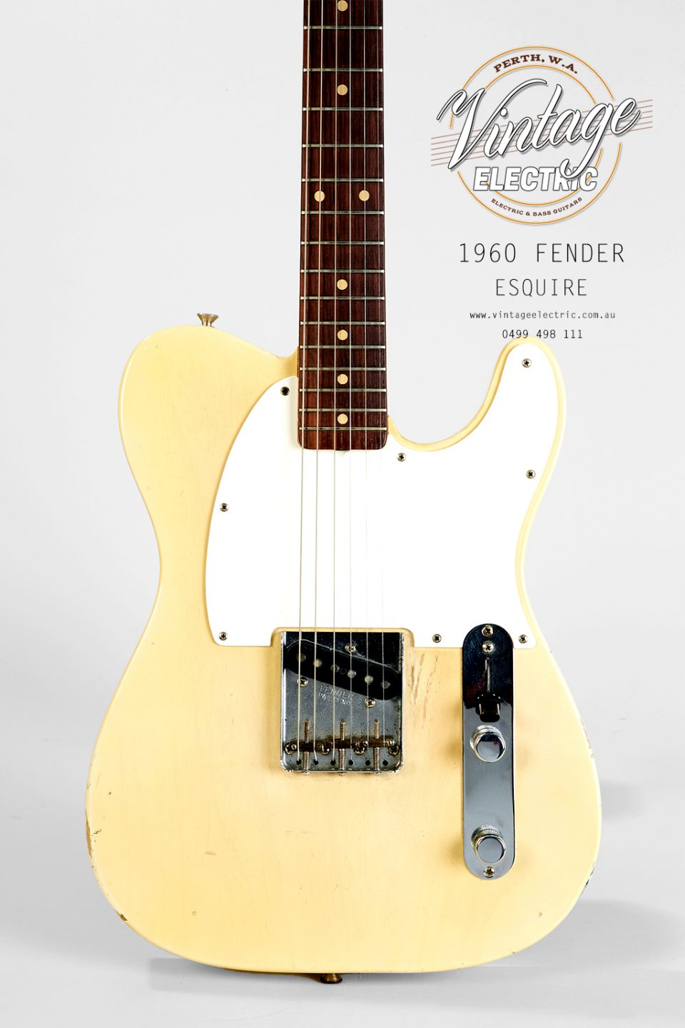 1960 Fender Esquire Blonde Body