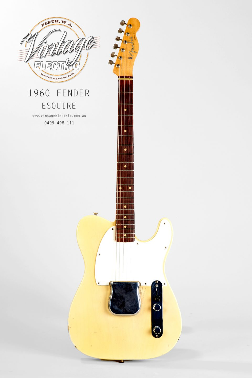 1960 Fender Esquire Slab Rosewood Board