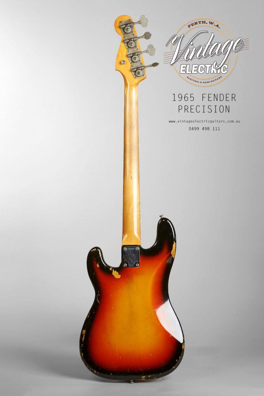 1965 Fender Precision Bass Back