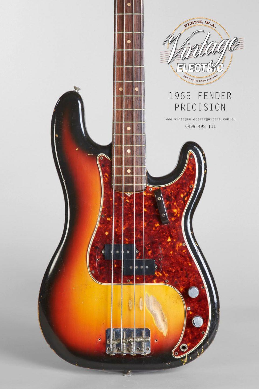 1965 Fender Precision Bass Body