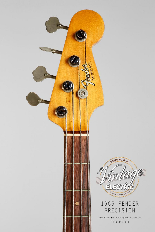 1965 Fender Precision Bass Headstock