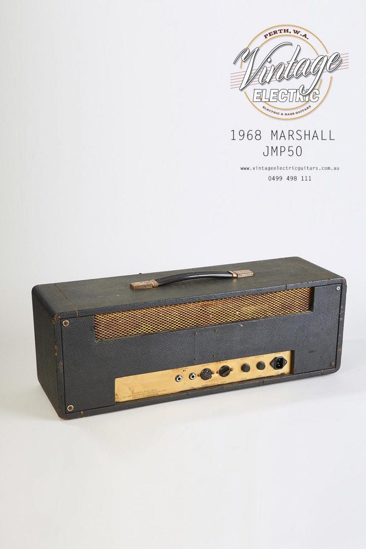 1968 Marshall JMP50 Plexi Rear