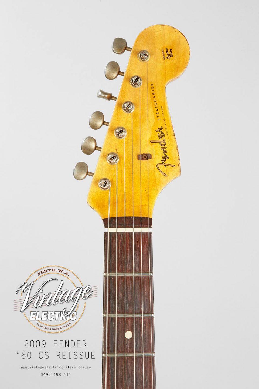 2009 Fender Stratocaster Custom Shop Headstock