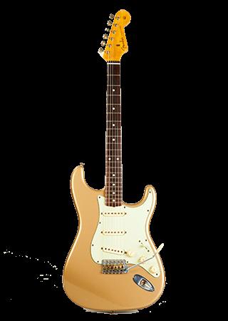 2009 Fender Stratocaster Firemist Gold