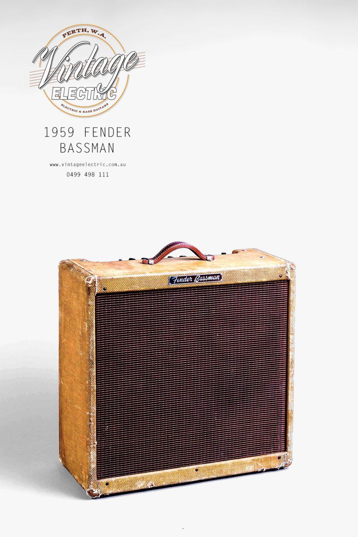 1959 Fender Bassman Tweed USA