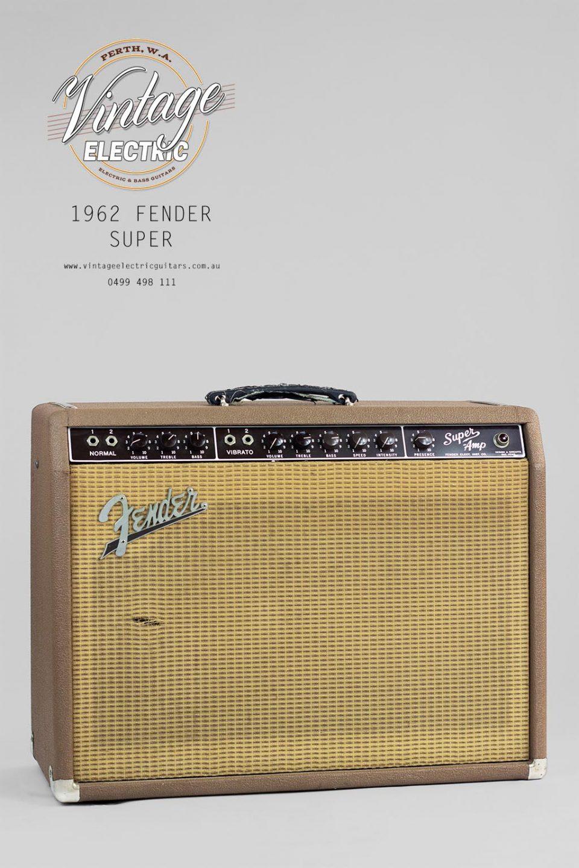 1962 Fender Super Amplifier