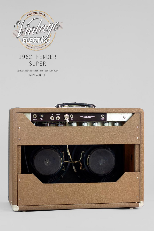 1962 Fender Super Rear