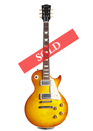 2013 Gibson Les Paul 1958 Custom Shop Reissue