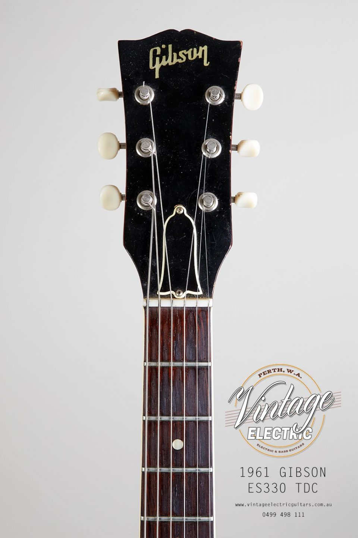 1961 Gibson ES 330 TDC Headstock