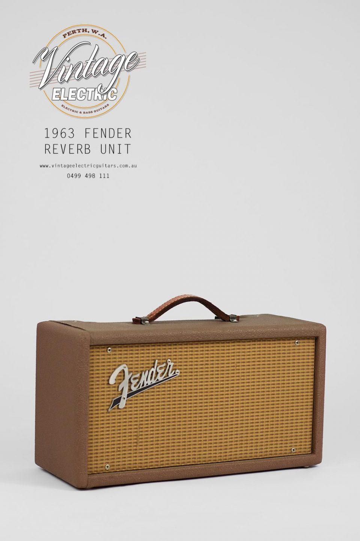 1963 Fender Reverb Tank