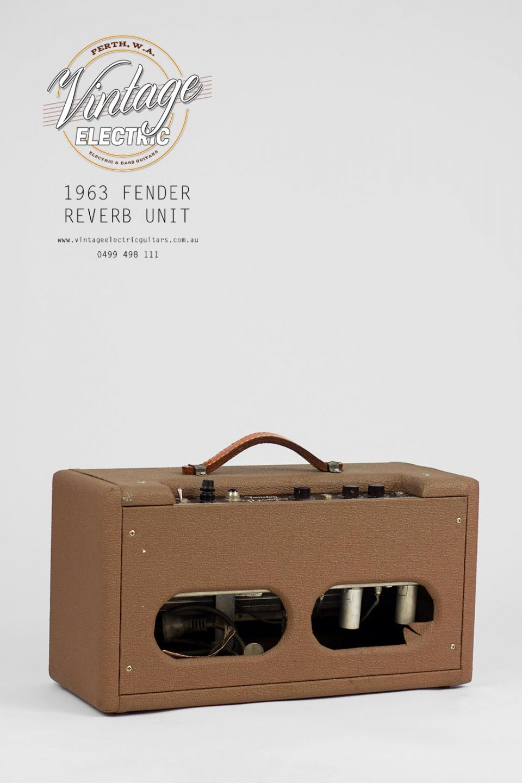 1963 Fender Reverb Rear