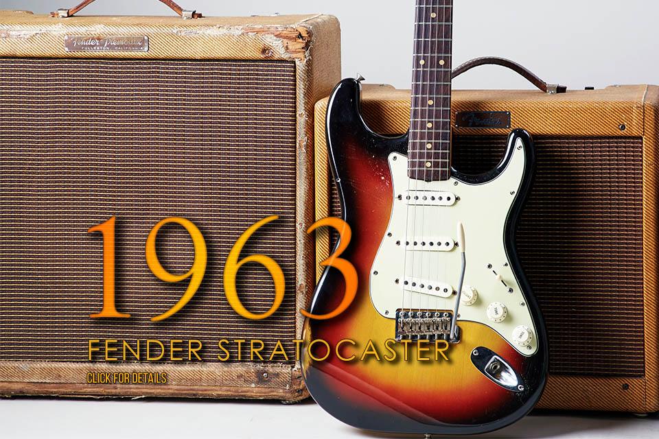 1963 Fender Stratocaster USA