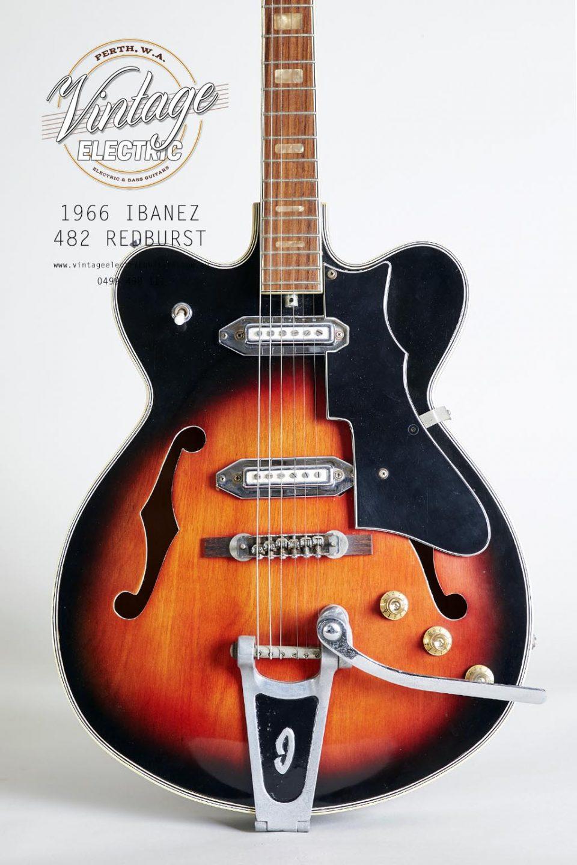 1966 Ibanez 482 Body