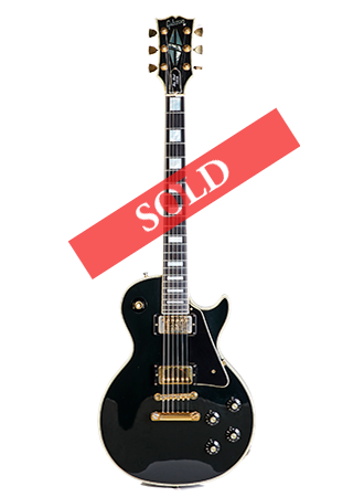 1975 Gibson Les Paul Custom Black Beauty