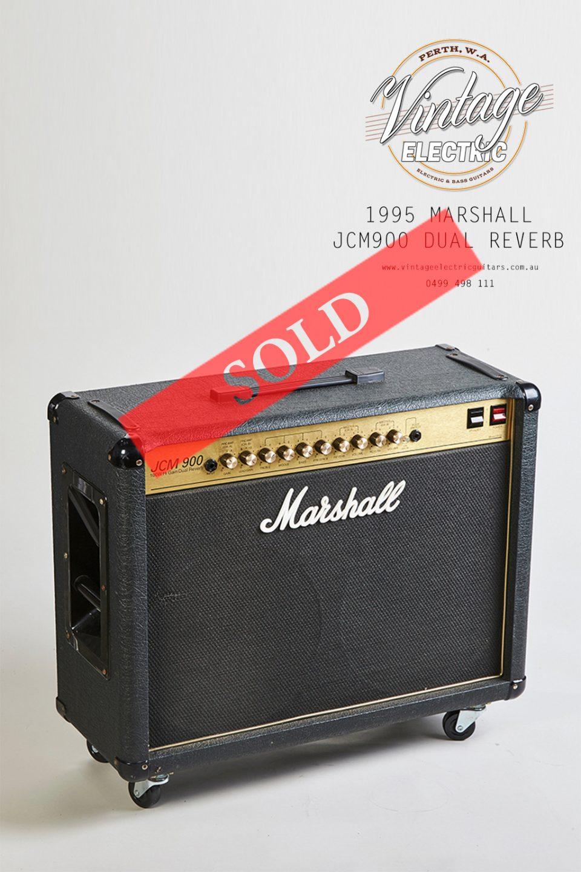 1995 Marshall JCM900 Dual Reverb 100W Combo