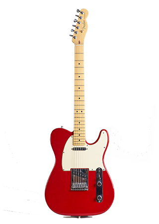 2006 Fender Telecaster Deluxe Candy Apple Red