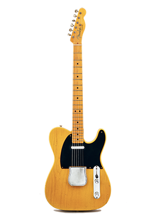 1951 Fender Telecaster Blackguard Butterscotch USA