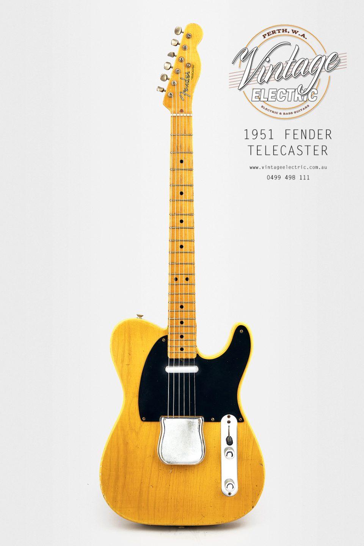 1951 Fender Telecaster Blackguard USA