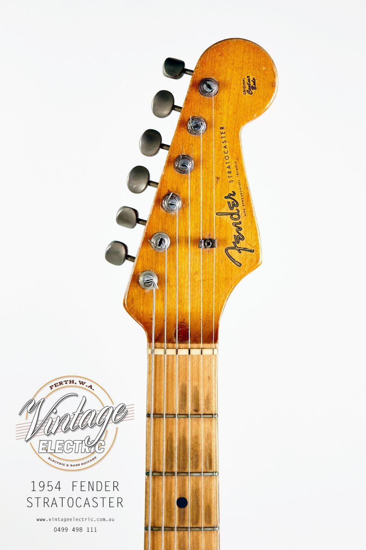 1954 Fender Stratocaster Headstock