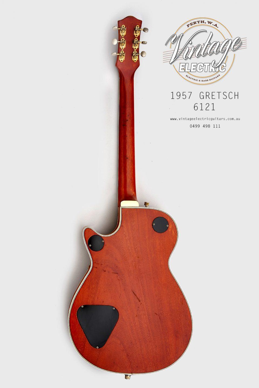 1957 Gretsch 6121 Back of Guitar USA 2020
