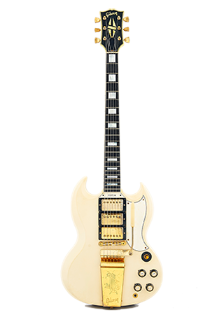1964 Gibson SG Custom Polaris White