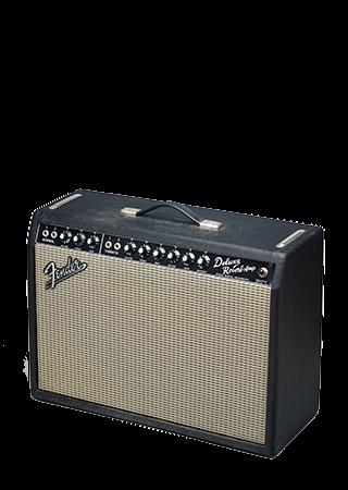 1965 Fender Deluxe Reverb Blackface USA