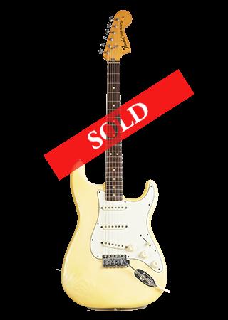 1975 Fender Stratocaster Olympic White