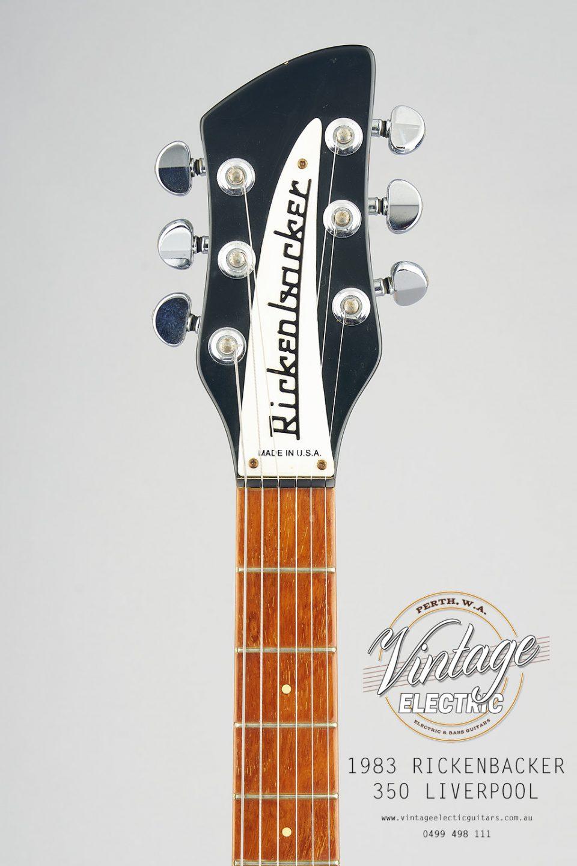 1983 Rickenbacker 350 Headstock USA