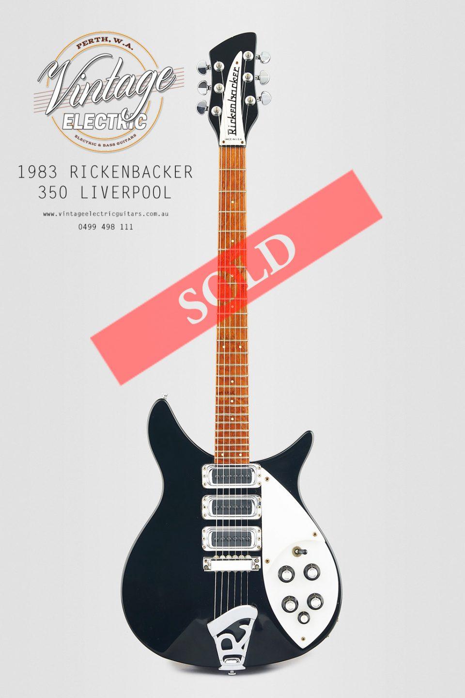 1983 Rickenbacker 350 SOLD