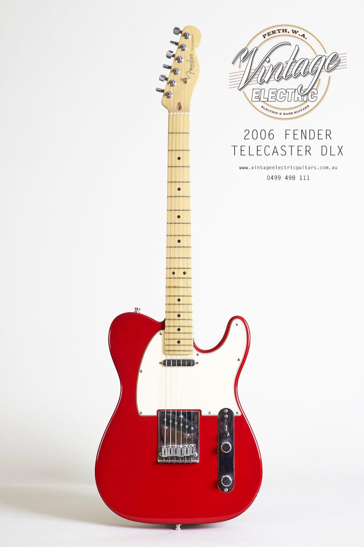 2006 Fender Telecaster Standard